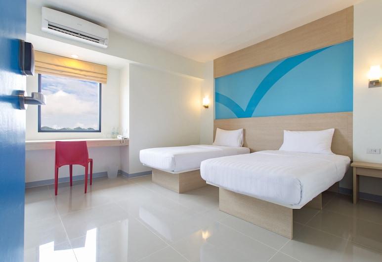 Hop Inn Hotel Makati Avenue, Makati, Quarto Twin Standard, Vista do Quarto