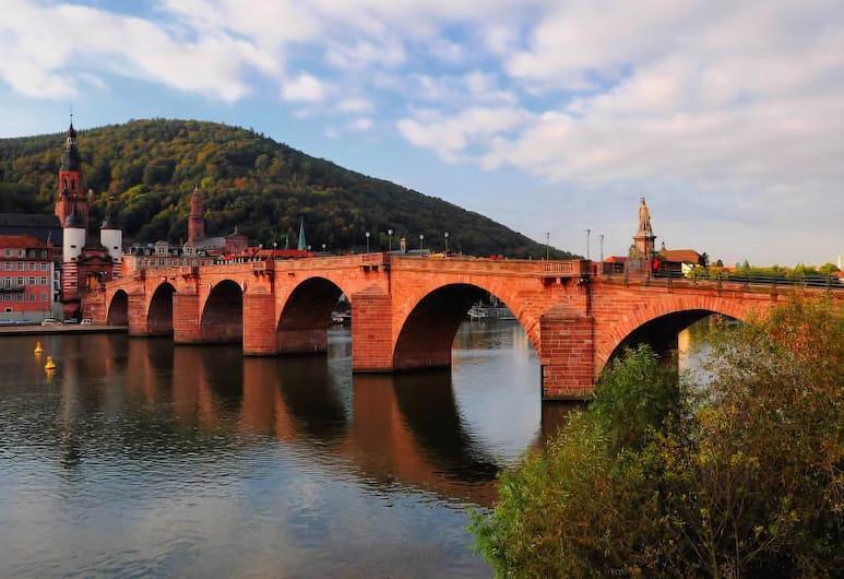 GuestHouse Heidelberg, Heidelberg, Ausblick von der Unterkunft