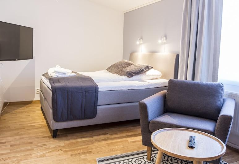Simloc Hotel Drottninggatan, Arjeplugas, Studija, 1 didelė dvigulė lova (Top Floor), Svečių kambarys