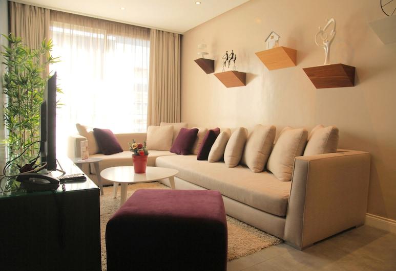 RENT-INN Suites Hôtel, Rabat, Suite (De Luxe), Living Room
