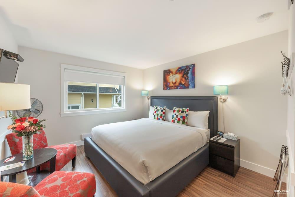 Paaugstināta komforta numurs, 1 divguļamā karaļa gulta (With AC) - Viesu numurs