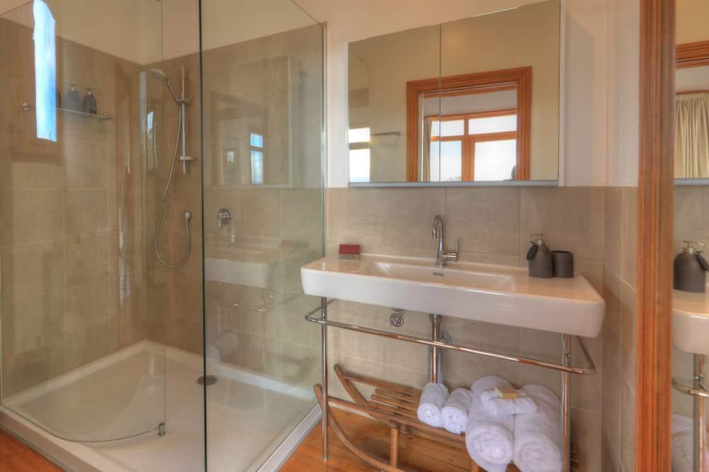 Executive vila, 3 spavaće sobe, masažna kada, pogled na ocean - Kupaonica