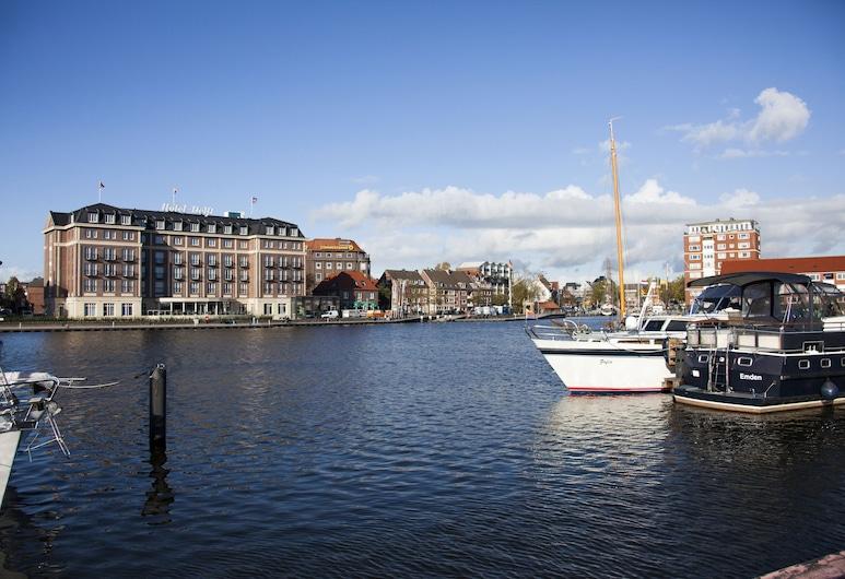 Hotel am Delft, Emden, Välisilme