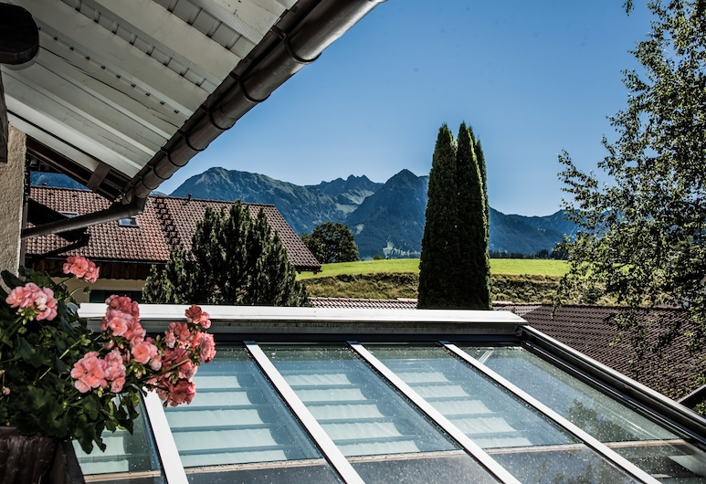 Haus Susanne, Obermaiselstein, Condominio Confort, 2 habitaciones, balcón, vista a la montaña (103 | alpGENUSS), Vista desde la habitación
