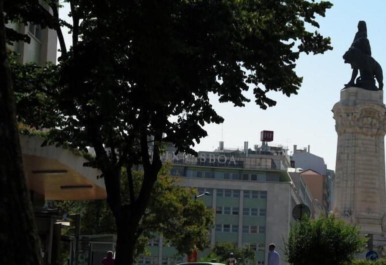 Marquês Soul - Hostel, Lissabon, Dobbeltværelse - fælles badeværelse (Cidade), Værelse