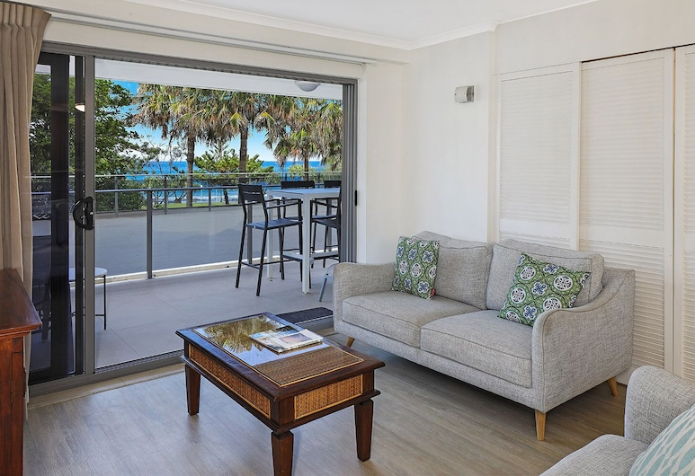 Spinnaker Apartments, Mooloolaba, Apt 6 - 2 Bed 2 Bath , Living Area
