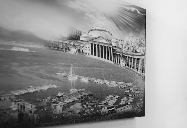 B&B Viva Napoli, Naples, Chambre Familiale, plusieurs lits, Vue sur la ville