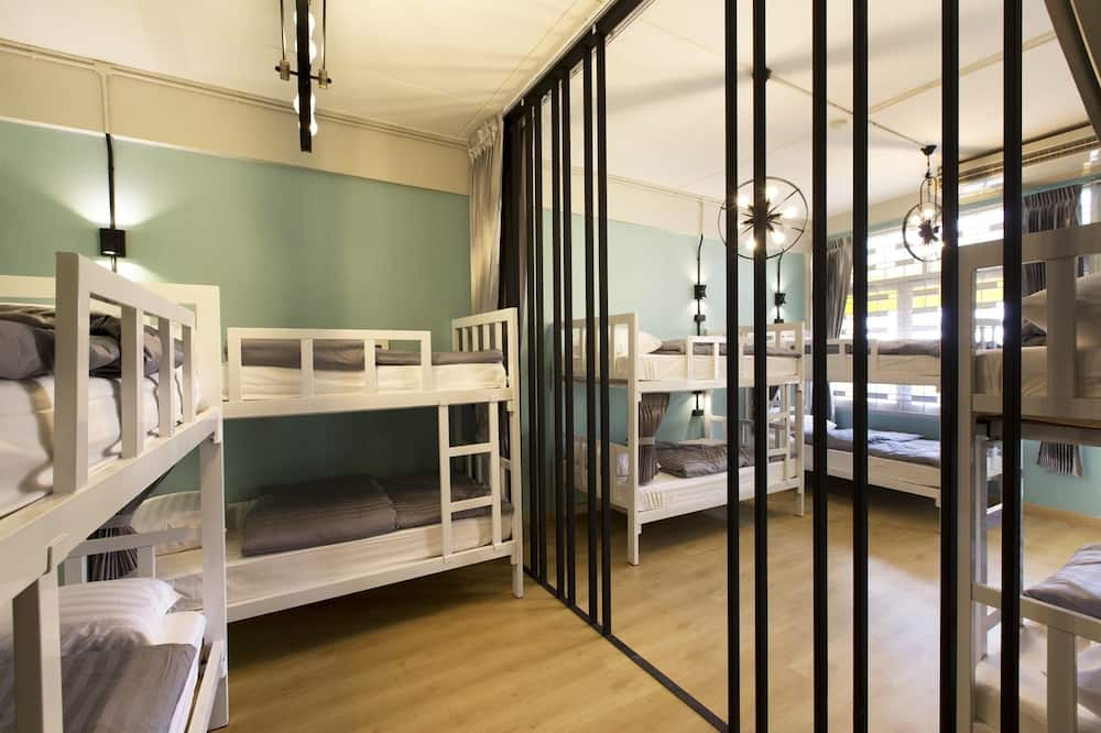 City Shared Dormitory, Mixed Dorm, Shared Bathroom, City View - Guest Room