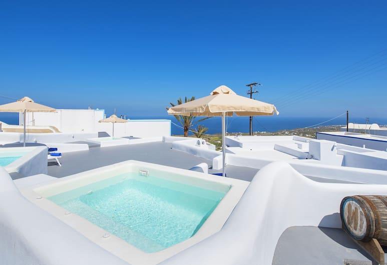 Kadia Traditional Residences, Santorini, Studio, Jetted Tub, Sea View (Spili), Jetted Tub