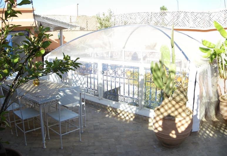 里亞德阿巴卡巴德拉酒店, 馬拉喀什, 陽台