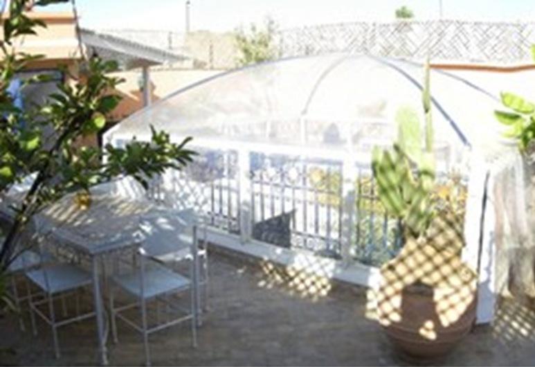 里亞德阿巴卡巴德拉飯店, 馬拉喀什, 露台