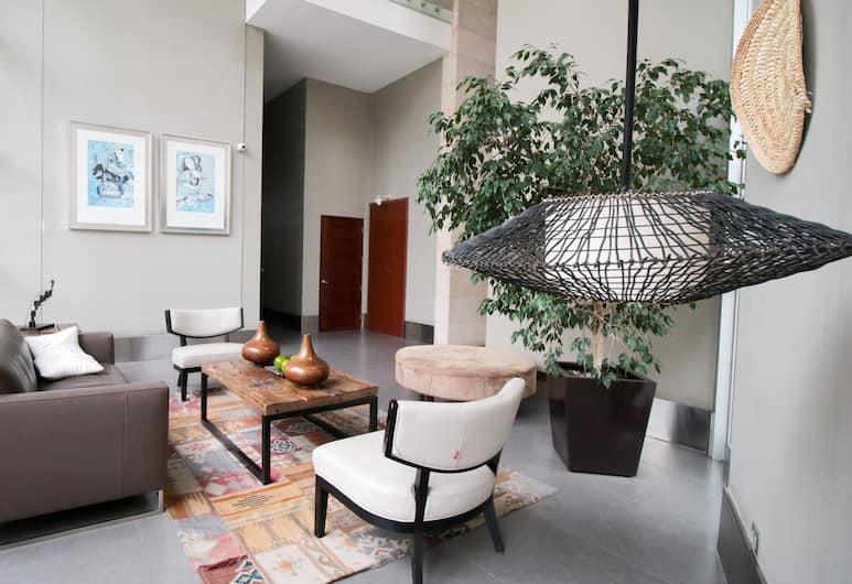 CityRentals, Santiago, Sittområde i lobbyn