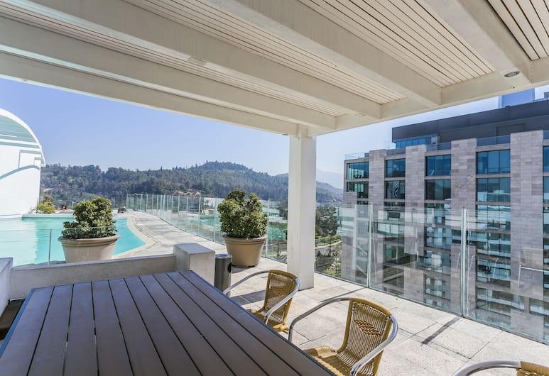 Nueva Lyon Apartments, Santiago, Terrass