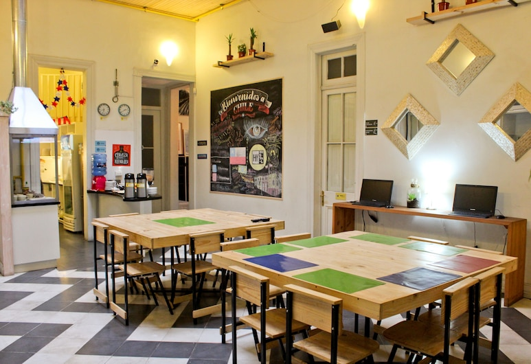 Hostal Yungay, Santiago, Área para desayunar