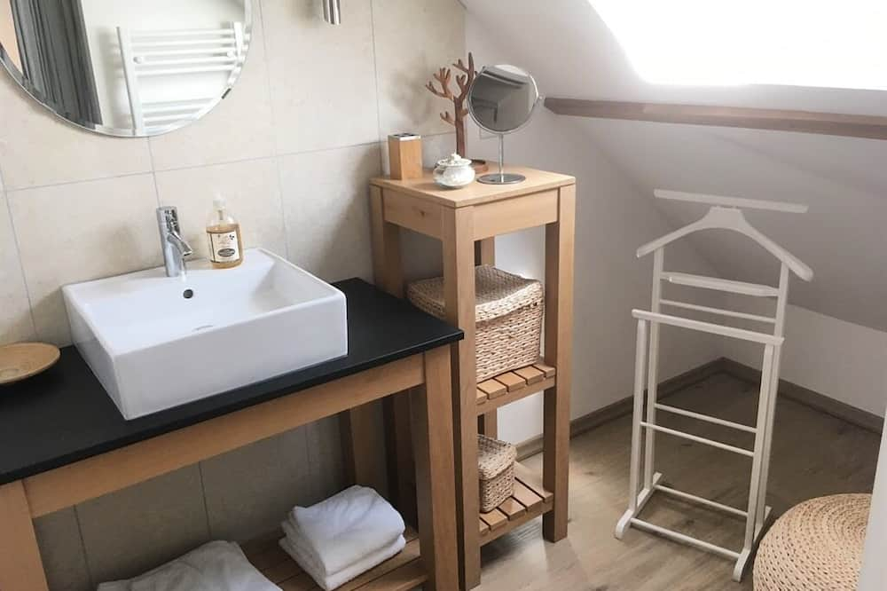Izba typu Comfort s dvojlôžkom alebo oddelenými lôžkami, súkromná kúpeľňa (Joli Coeur) - Kúpeľňa
