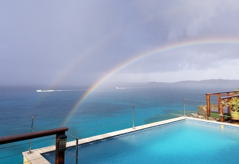Villa Mirino - Fabuloso East End Ocean Front Residence com vistas deslumbrantes. , St. Thomas, Piscina