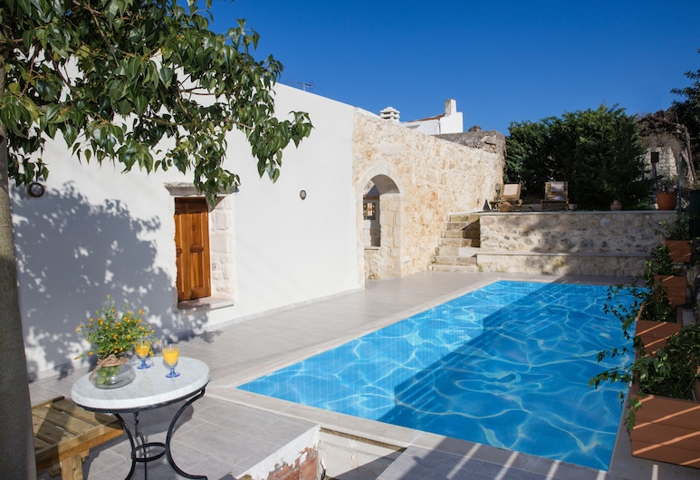 Eco Cottage Vedere the Perfect Holidays, Rethymno, Utomhuspool