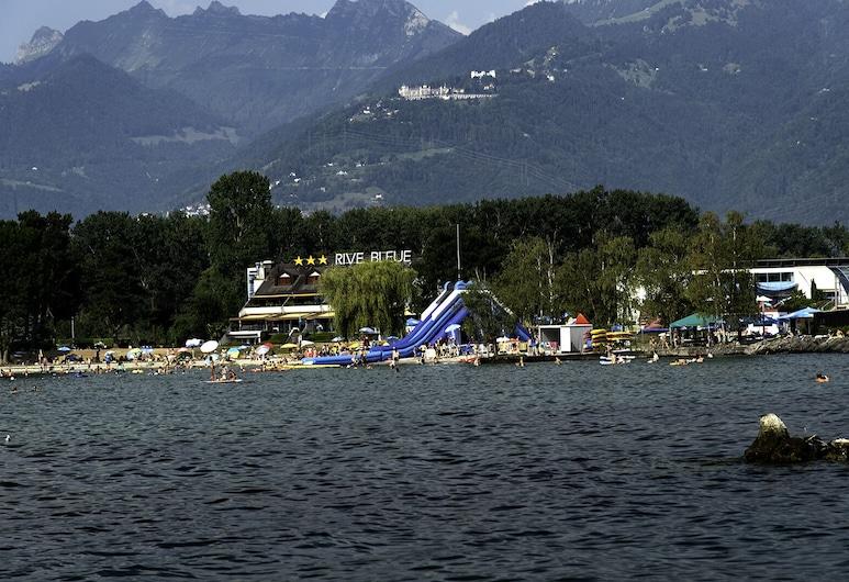 Luxury Apartment in Marina on Lake Geneva, Port-Valais, Plaj