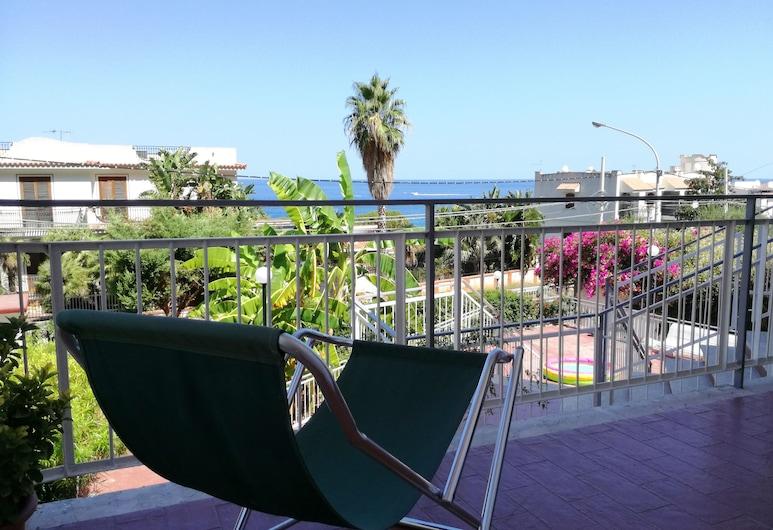Villa Tea - Linda Vista Para o mar, باليرمو, شُرفة