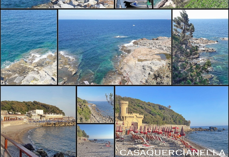 Fantastic view, private garden, air conditioning, free WIFI., Livorno, Rand