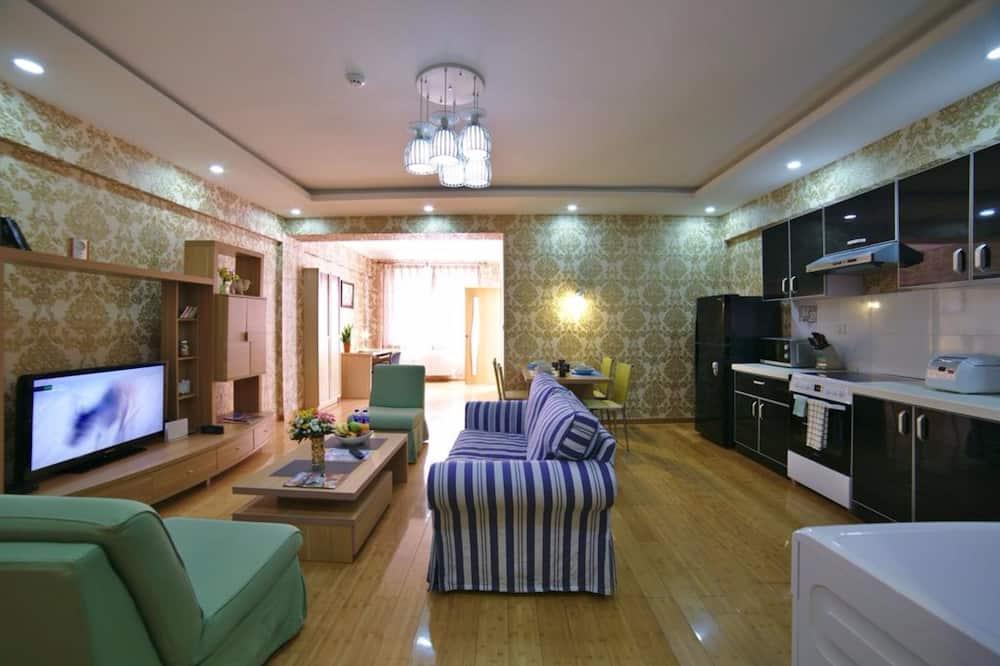 Apartemen Grand, 1 kamar tidur - Ruang Keluarga