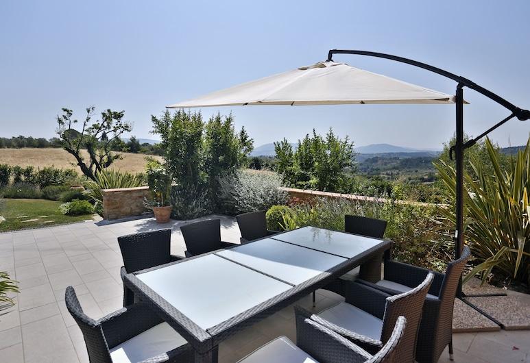 Luxury Villa in the Florentine Hills, 佛羅倫斯, 露台