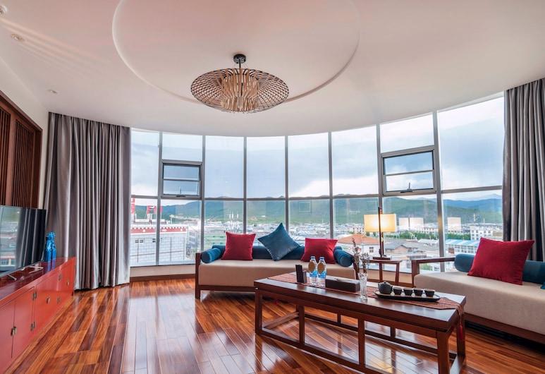 Yunman Hotel ShangRi-La Branch, Te-čchin, Apartmá, Obývací pokoj