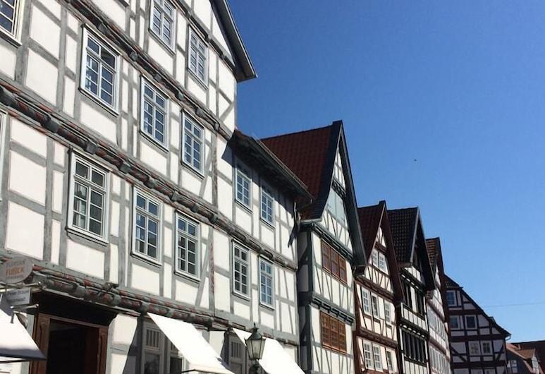 Hotel Gasthaus Ellenberger, Melsungen, Vista desde el hotel