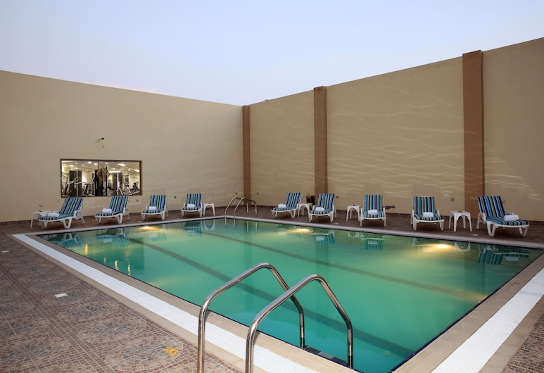 Intour Jazan Hotel, Jizan, Lauko baseinas