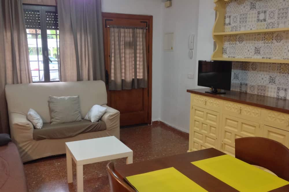 Economy-Studiosuite, 1King-Bett, barrierefrei, Küche - Wohnzimmer