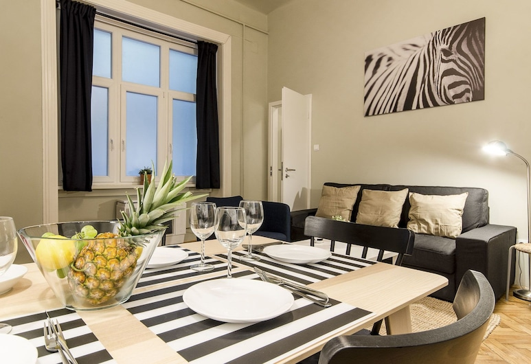 Chili Apartments, Budapest, Apartment, 1 Bedroom (Chili De Lux), Living Area