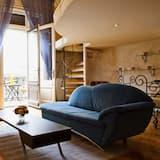 Apartment, 1 Bedroom (Cibere, Március 15.tér 8) - Living Room