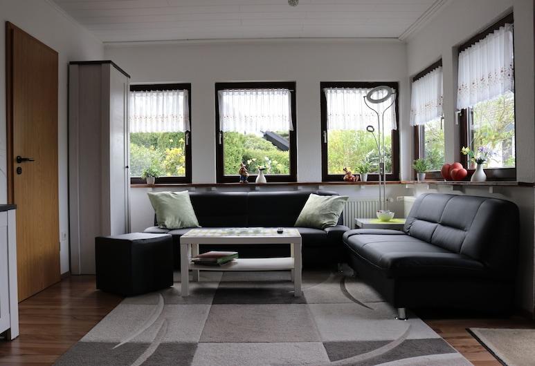 Disfrute del descanso y la relajación en el hermoso Sauerland justo en el lago, Meschede, Sala de estar