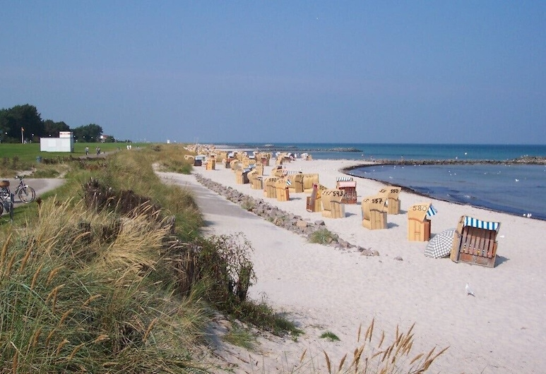 Original Danish holiday home with sauna and beach chair, on the Baltic coast, Schönberg (Holstein), Pantai