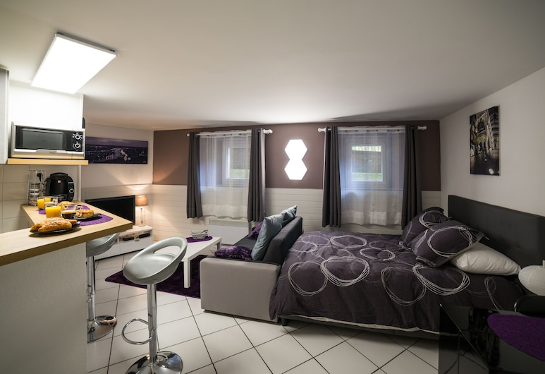 Le Cottage de La Gare Rouen, Rouen, Comfort-Studiosuite, Zimmer