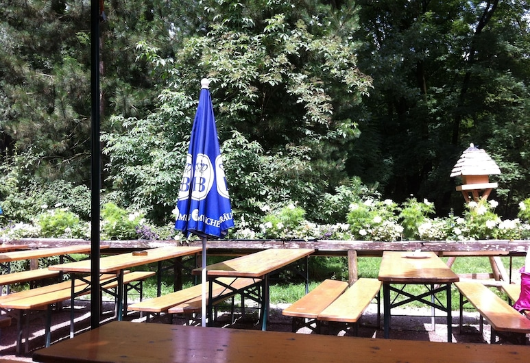 Little Guesthouse In The Green Heart Of The City, Munich, Balcony