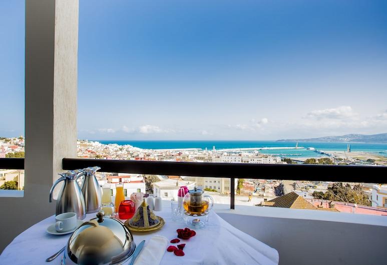 Fredj Hotel and Spa, Танжер, Люкс «Премиум», Вид на пляж/ океан