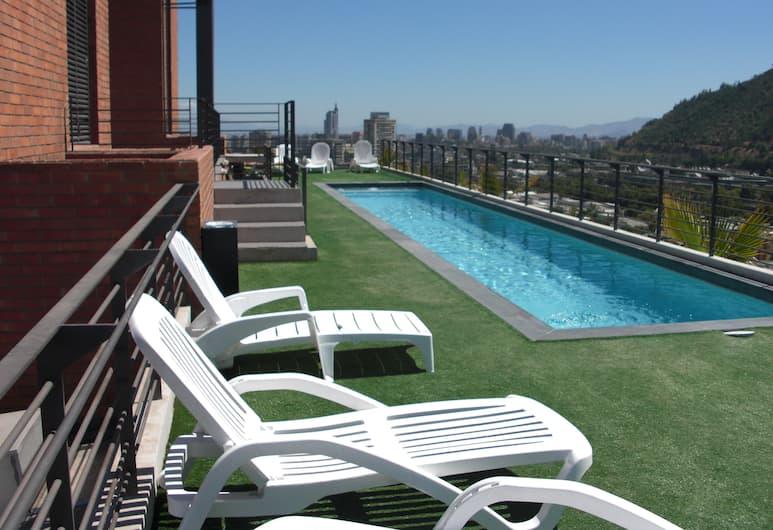 JT Departamentos Amoblados Providencia, Santiago, Rooftop Pool