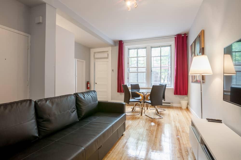 Apartament typu Economy, 2 sypialnie, widok na park - Powierzchnia mieszkalna