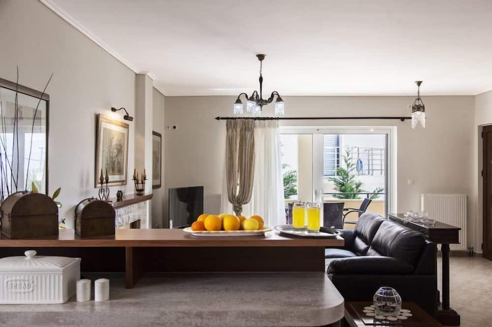 獨棟房屋, 3 間臥室, 海景 (1) - 客廳