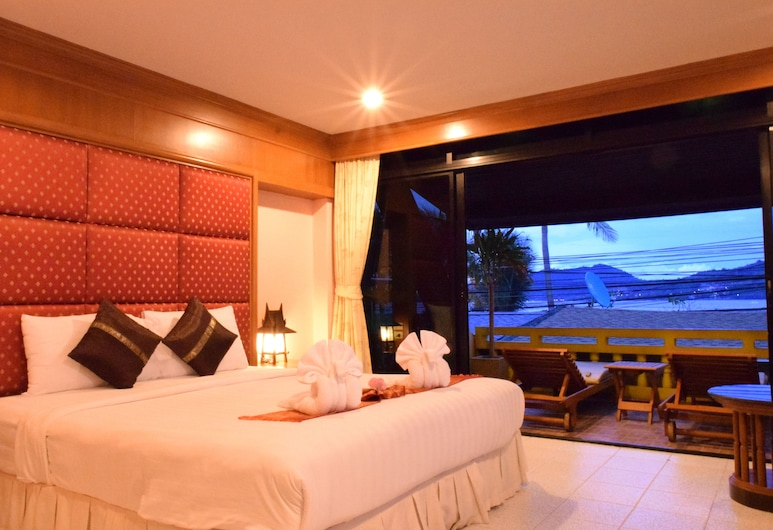 Sea Dream Patong, Patong, Deluxe Double Room with Sea View, Guest Room