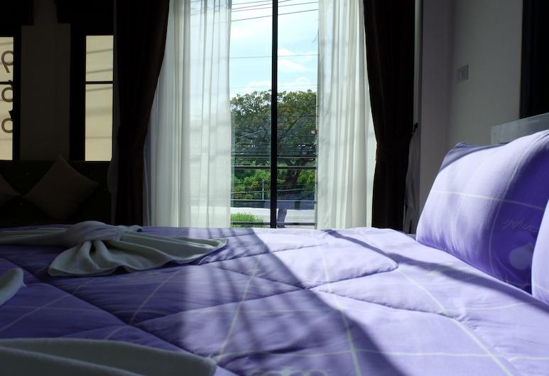 夢想小屋飯店, 攀武里, Double Room with Balcony, 客房
