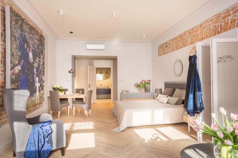 Design Apartment, 1 Bedroom (Mehoffer Apartment) - Bilik Tamu
