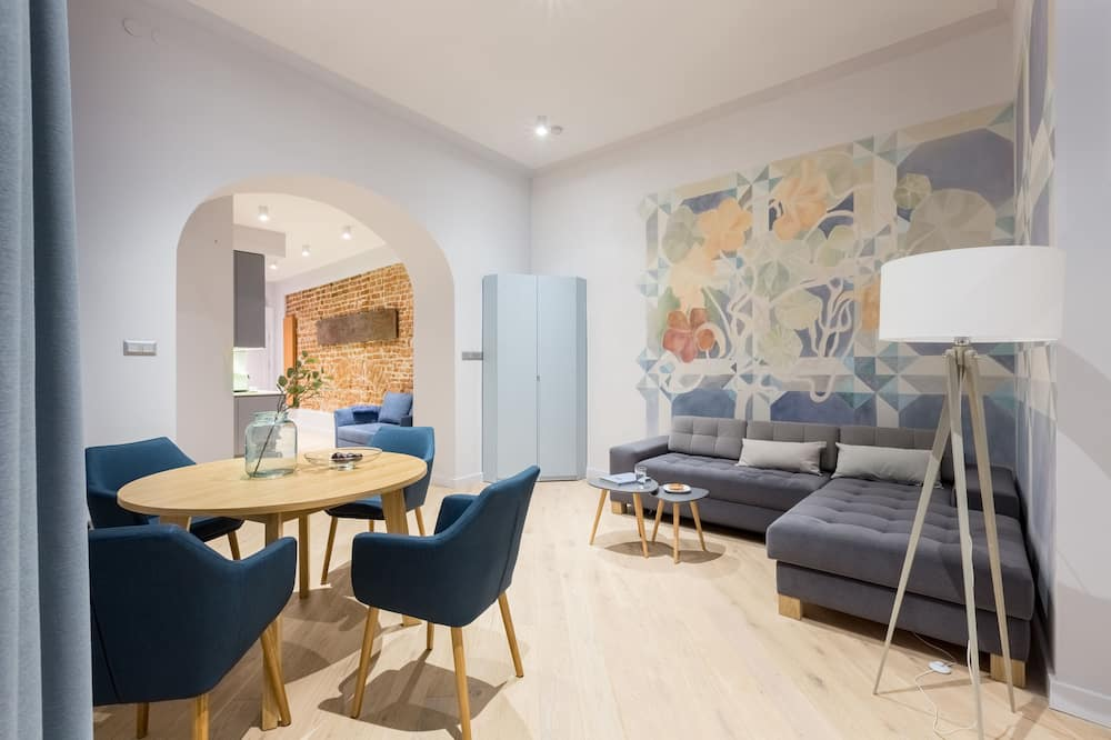 Luxury Apartment, 1 Bedroom (Wyspianski Apartment) - Bilik Rehat