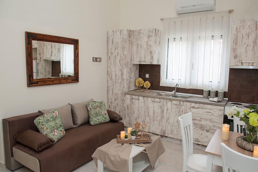 Apartment, 1 Bedroom (Peonia) - Ruang Tamu