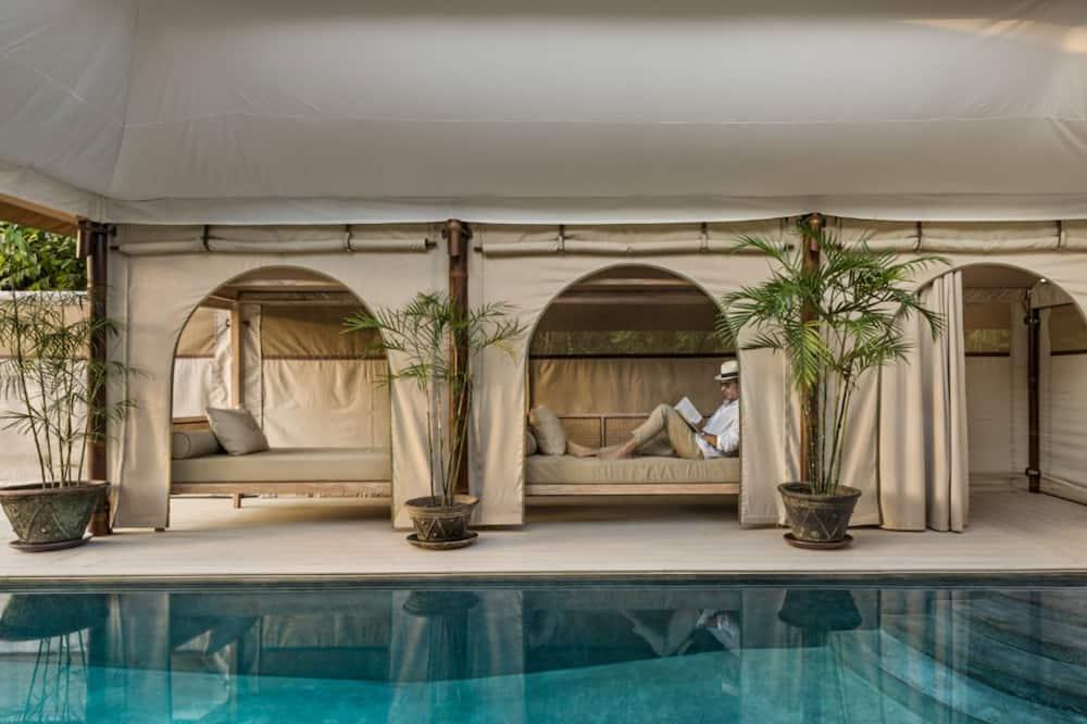 VIP Pool Tent - Guest Room