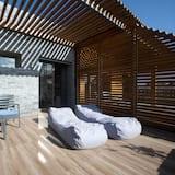 Studio Luxe, 1 très grand lit - Chambre