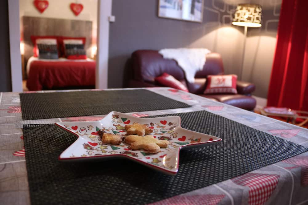 Comfort Süit, Özel Banyo (Chamois) - Oturma Alanı
