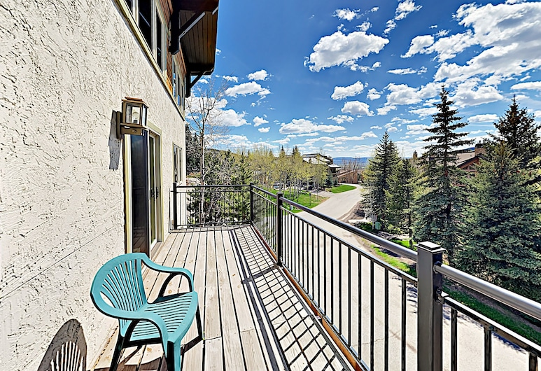 Ski Trail Apartment 2320 by RedAwning, Steamboat Springs, Apartment, 3Schlafzimmer, Terrasse/Patio