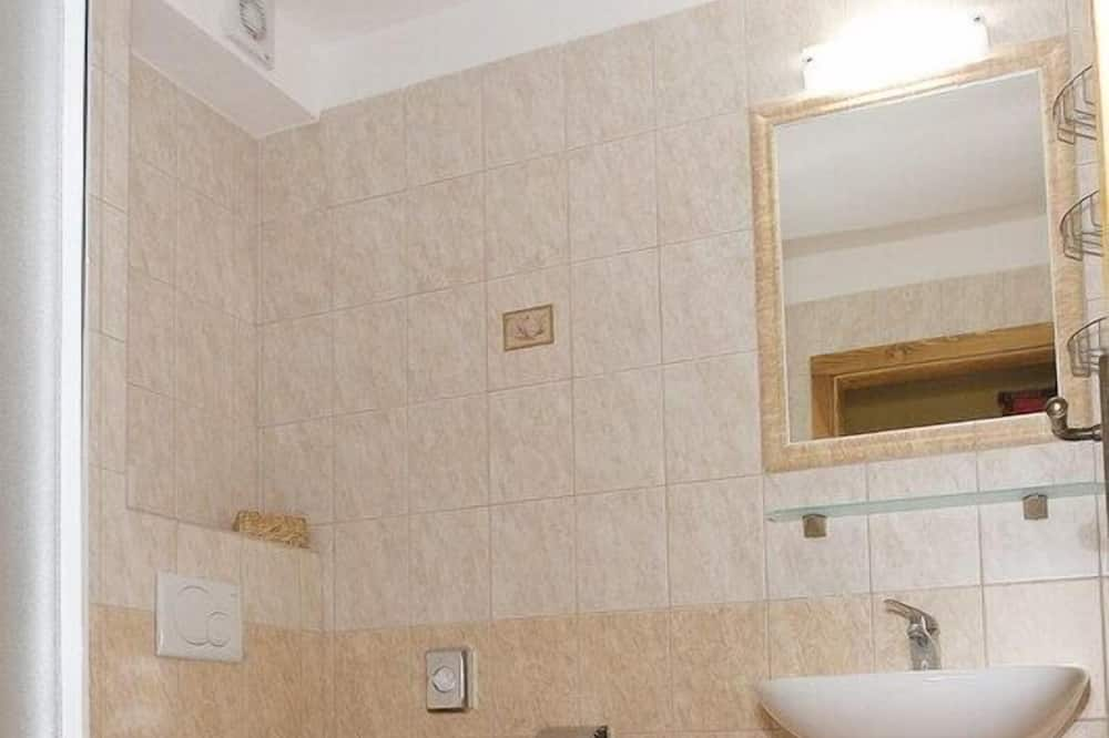 Двомісний номер (1 двоспальне або 2 односпальних ліжка) (Extra bed) - Ванна кімната